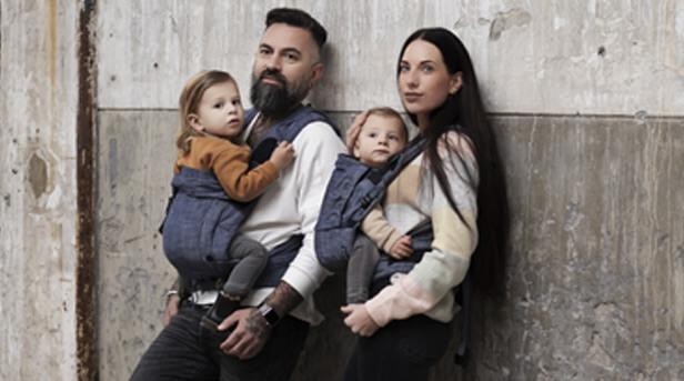 Babytragen Bondolino und Nabaca