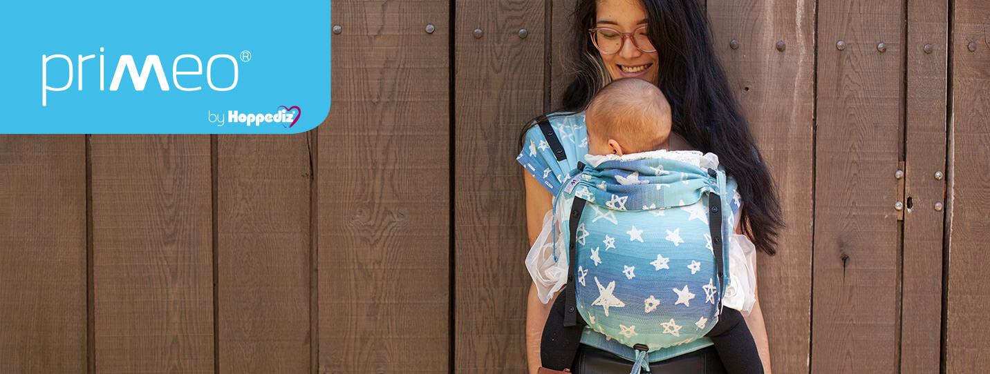 Primeo Neugeborenen Trage Singapur blue